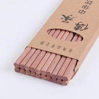 Essstäbchen 10 Paare wiederverwendbare hölzerne Bambus-chinesische japanische Chop-Stick-Sticks