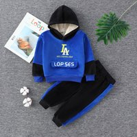 Clothing Sets Kids Jacket Coat Pants Suit For Sports Suits Tracksuits Toddler Children Clothes Set Baby Boys Girls Fleece Hooded