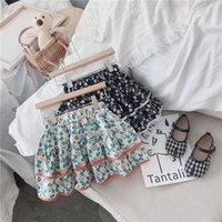 뉴스 세련된 어린이 Tutu 여자 스커트 꽃 치마 소녀 여름 아이들의 옷 면화 유아 아기 소녀 스커트