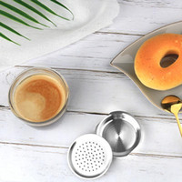 قهوة refafimil قابلة لإعادة الاستخدام لفيلات فيليبس سينو بود مقابلة الفولاذ المقاوم للصدأ آلة