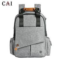 Backpack Brand Waterproof Outdoor Travel Nappy Bag Mummy Large Capacity Stroller Mom Baby Designer Nursing Diaper Bags