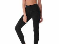 Moldando Mulheres Yoga Outfits Senhoras Esportes Calças Completas Exercício Fitness Wear Girls Marca Running Leggings L-058 02