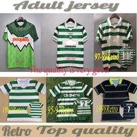 1991 1992 01 03 04 Celtic Retro Jerseys 1980 1995 1997 1998 Camisas Clássico Vintage 2005 2006 Kit de Futebol Tops