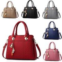 Evening Bags Pu Embroidered Leather Bag Women's Fashion Shoulder Strap Belt