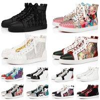 red bottom shoes zapatos de diseño para hombres, mujeres, zapatillas de deporte de moda, triple, negro, blanco, rojo, cuero de gamuza para hombre, pantalones de entrenamiento