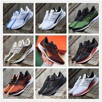 Zoom x pegasus 35 chaussures de course turbo Poinçon à peine gris Baskets Blanc Blanc Shanghai Chaussures Hommes Femmes Foots Formateurs