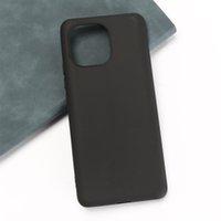 Matte Phone Cases For Xiaomi 11 11T Mix 4 Poco X3 GT M3 Mi 10 Pro Soft TPU Back Cover