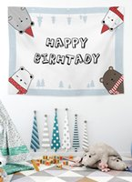 Blinds Tapestry Birthday Background Fabric Scene Layout Room Decorative Cloth
