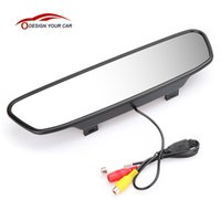 """Car Video 5"""" TFT LCD Monitor Parking Assistance Rear View Mirror Backup Reverse Auto TV DVD DVR Screen"""