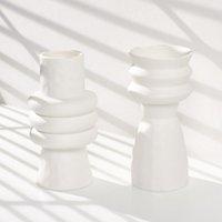 花瓶セラミックス花瓶の新鮮なスタイリッシュなシンプルなエレガントな創造的装飾品小道具