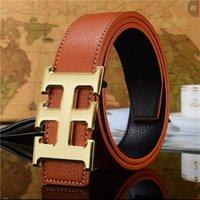 2021 مصمم الرجال الفاخرة الرجال h مشبك حزام الأعمال السلس الأزياء حزام مربع gtyx