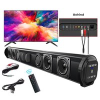 Mini Speakers BS-10 Powerful Home Theater TV Sound Bar Speaker Wired Wireless Bluetooth Surround Soundbar For PC Outdoor Remote