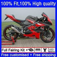 Body Injectie Mold OEM voor Suzuki 1000cc GSX-R1000 2005-2006 Moto Carrosserie 26 Nr.116 GSXR 1000 cc K5 GSXR1000 rood zwart 2005 2006 GSXR-1000 05 06 100% Fit Fairing