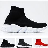 Desconto City Sock Shoes Knit Trainer para Homens Mulheres Amante Running Speak Speaker Sneaker Size36-45