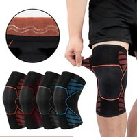 Elbow & Knee Pads 1Pc Knitted Pad Sleeve Nylon Elastic Breathable Sport Support Compression Warm Leg Protector For Sports Fitness Exercise