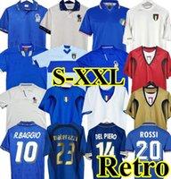 1998 1982 Retro Soccer Jersey 1990 1996 1994 2000 Football Maldini Baggio Rossi Schillaci Totti del Piero 2006 Pirlo Inzaghi Buffon Italia Cannavaro Materazzi Nest