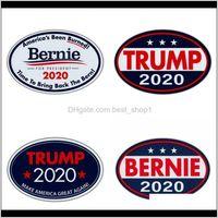 Décor Ev Bahçe Bırak Teslimat 2021 Trump Bernie Desen Çıkartmalar Bir Unite Devlet Başkanlık Seçim Tarzı Buzdolabı Mıknatısları Çok Stilleri Sticke