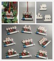 زخرفة عيد الميلاد 2021 زينة عيد الميلاد الحجرية شخصية نجا عائلة من 1-9 رؤساء زخرفة مع diy شجرة قلادة اكسسوارات مع حبل