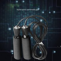 Exercise Equipment Adjustable Boxing Skipping Sport Jump Rope Bearing Skip Rope Cord Speed Fitness Aerobic Jumping OWB6441