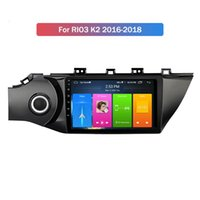 video android 10 car dvd player with reversing camera touch screen gps navigation for KIA RIO3 K2 2016-2018