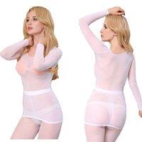 Sexy Sheer Womens Tank Mesh ver a través de la parte superior Blusa y Leggings Underst Screen Slim Fit Desnuda Sentimiento de las mujeres