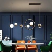 Gleam Modern Led Pendant Lights For Dinning Room Living Restaurant Kitchen AC85-260V Luminaire Suspended Lamp Lamps