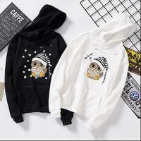 Owl Autumn Long Sleeve Pocket Womens Hoodies Drawstring Kawaii Hooded Solid Color Casual Pullovers Streetwear Hoody Top