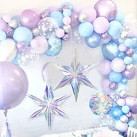 Shiny Laser Party DIY Hanging Ornament Star Pendant Birthday Wedding Baby Shower Supplies Festival Party Winter Christmas Decor