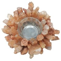 Objetos Decorativos Figuras Cristal Natural Misceláneo Piedra Candillosa Curación Reiki Mineral Cuarzo Casa Cena Cena Decoración