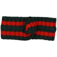 Классический дизайн эластичные шерсти повязки для женщин и мужчин Италия бренды зимние густые теплые полосы волос headwrap рождественские подарки