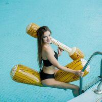 نفخ السباحة العوامة الدائري تلعب بركة لعبة العائمة صف الضرب عصا سميكة جبل المياه نتوء الرياضة اللعب