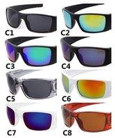 Erkekler ve Kadınlar için Marka Güneş Gözlüğü Bisiklet Spor Gözlük Bisiklet Sürüş Güneş Gözlükleri UV400 Koruma 8 Renk