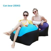 Small Inflatable Chair Outdoor Portable Sofa Foldable Camping Sleeping Bag Bags