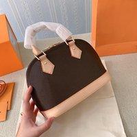 CLASSIC ALMA BB BB Sac Shell Sac de luxe de luxe Sacs à main de haute qualité rétro à la mode simple épaule