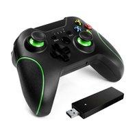 2.4G Controlador de jogos sem fio Joystick Gamepad para Xbox One / PC Win7 System, Win8 / Win10 / Android Mobile Phone / PS3