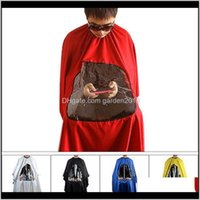 Aprons Pro Salon Barber Hair Cutting Gown Cape With Viewing Window Hairdresser Apron Jywpi Bfuu8