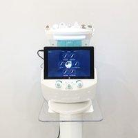 هيدرو ماكينة الوجه هيدروكال دمرجمي الجلدي آلة microdermabrasion 2021 الجليد الأزرق هيدرا الوجه بالموجات فوق الصوتية محلل الجلد مرآة السحر
