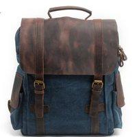 Backpack Men Handbag Big Bag 2021 Casual Travel Male Canvas Pack Zipper Fashion Shoulder Durable Outdoor Sport For Man Sac Main