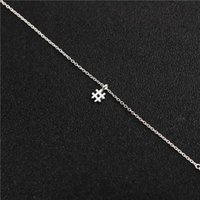Кулон Ожерелья 10 Хэштег Письмо Начальный знак Цепи Ожерелье Модный Алфавит Символ # Для Женщин Ladie Lucky Подарочные Украшения