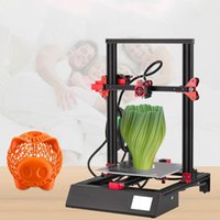 Printers 3.5 Inch Touch Screen Desktop 3D Printer Aluminum Heated Bed Auto Feeding Auto-leveling EU Plug