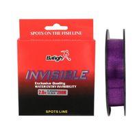 Braid Line Purple 200M Nylon Fishing Wire Transparent Fluorocarbon Coated Monofilament Leader Carp Accessories