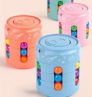Auf Lager Dekompression Magische Puzzle Kugel Zappeln Würfel Bündel Kugeln Bohnen Anti Stress Angst Relief EDC Kinder Kind Pädagogische Spielzeug