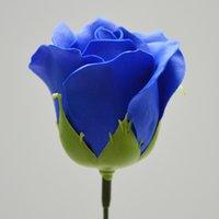 50 pcs Artificial Holding Flores Rose Soap Flower Head DIY DIY para Dia dos Namorados Dia Mãe Casamento Casa Decoração Scrapbooking 1356 V2