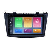 Car dvd Multimedia Player 9 Inch Android 10 for Mazda 3 2009-2012 GPS Navigation Radio with Rearview Camera Mirror Link