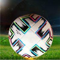 Top Quality Bola de futebol 2021 Final Kyiv Pu Tamanho 5 Bolas Grânulos Slip-resistant Futebol Alto Qualit Athletic Outdoor Acccs