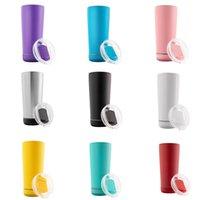 Creative 18oz Haut-parleur Tumblers d'eau avec lampe flash Smart Tumbler Eco-respectueux de la grande capacité de grande capacité Coupes portables