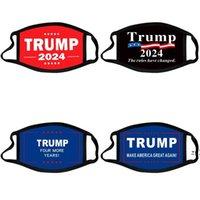 Trump Face Mask Elección presidencial Maga Masdas de algodón Joe Biden Lavable Transpirable Black Color letras Imprimir Adulto Facenask OWA5064