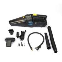 En 1 Limpiador de vacío de mano inalámbrico Auto Auto Inflable Bomba de neumáticos Medidor de presión Digital Pantalla Dual Uso Doble Limpiadores de eliminación de polvo