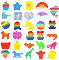 1pc 푸시 버블 팝 삐 었 어 darkget queeze luminous toys 불안의 장난감 광선 불안 Autism 특별 요구 스트레스 reliever 테이블 게임