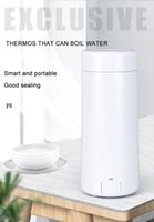 Water Bottles 350ML Electric Kettle Portable Thermo Pot Fast Boiling Travel Outdoor Heater Insulable Boiler